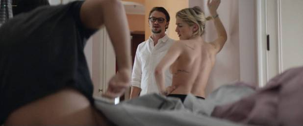 Ashley Benson hot Addison Timlin nude side boob - Chronically Metropolitan (2016) HD 1080p (3)