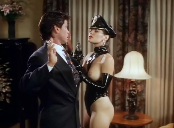 Athena Massey nude sex threesome Rena Riffel, Lisa Ann, Elena Olanson all nude too - Undercover (1995) (7)