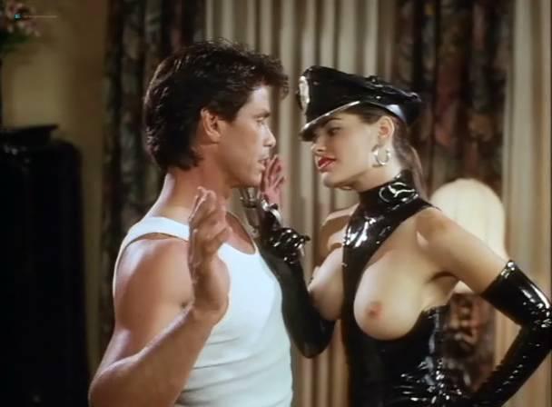 Athena Massey nude sex threesome Rena Riffel, Lisa Ann, Elena Olanson all nude too - Undercover (1995) (6)