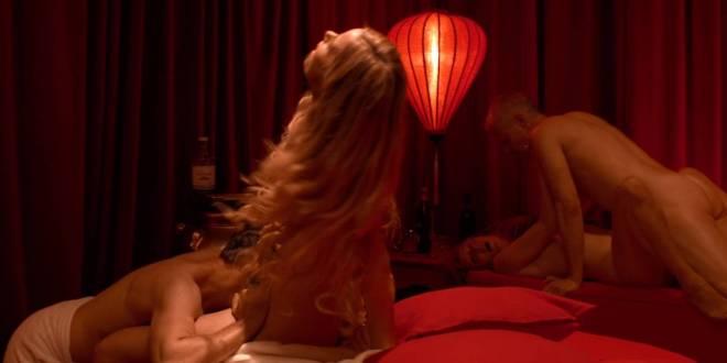 Natalie Madueño nude butt Therese Damsgaard, Lisbeth Wulff brief nude and sex - Swinger (DK-2016) HD 1080p (3)