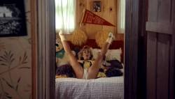 Teri Weigel nude topless Vickie Benson, Betsy Russell and other's hot and sexy - Cheerleader Camp (1988) (7)