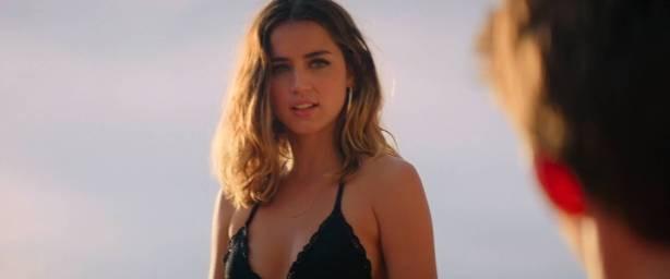 Ana de Armas hot bikini Gaia Weiss hot sex - Overdrive (2017) HD 1080p WEB (6)