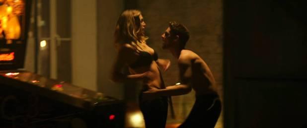 Ana de Armas hot bikini Gaia Weiss hot sex - Overdrive (2017) HD 1080p WEB (2)