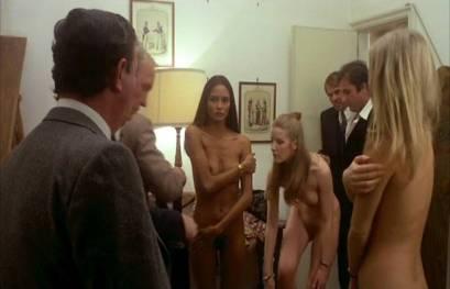 Laura Gemser nude full frontal Karin Schubert nude other's nude explicit sex - Emanuelle Around The World (1977) (12)