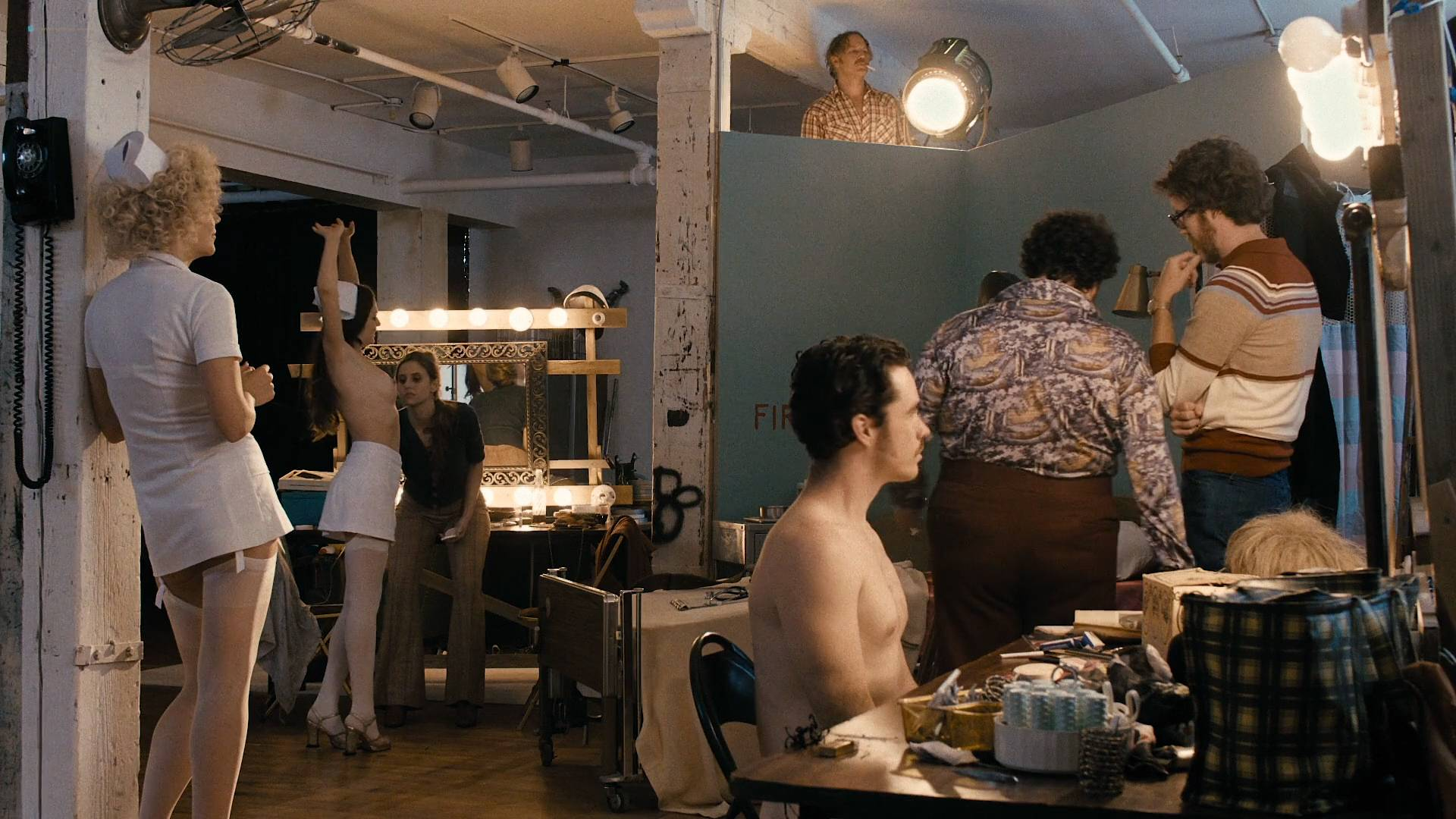 Maggie Gyllenhaal nude topless sex Margarita Levieva and Emily Meade nude - The Deuce (2017) s1e6 HD 1080p (3)