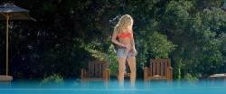 Samara Weaving hot in bikini and lesbian kiss with Bella Thorne - The Babysitter (2017) HD 1080p (14)