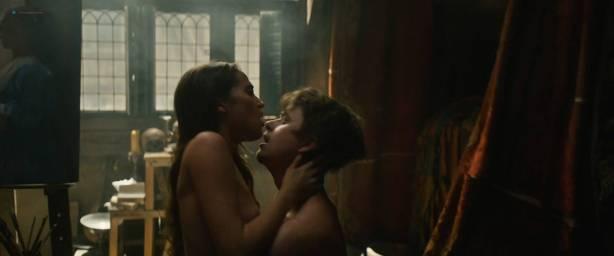 Alicia Vikander nude sex Holliday Grainger and Cara Delevingne nude sex too - Tulip Fever HD 1080p (2017) (8)