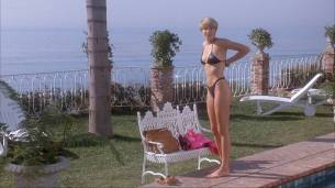 Loryn Locklin nude sideboob and hot in tong - Taking Care Of Business (1990) HD 1080p WEB 08