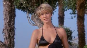 Loryn Locklin nude sideboob and hot in tong - Taking Care Of Business (1990) HD 1080p WEB 14