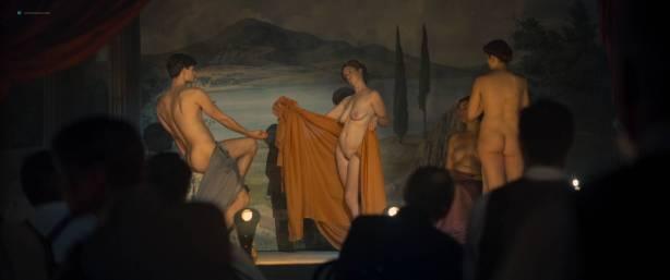 Maresi Riegner nude full frontal Larissa Breidbach nude bush Valerie Pachner nude - Egon Schiele: Tod und Mädchen (AT-2016) HD 1080p BluRay (14)