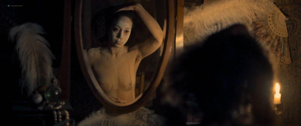 Maresi Riegner nude full frontal Larissa Breidbach nude bush Valerie Pachner nude - Egon Schiele: Tod und Mädchen (AT-2016) HD 1080p BluRay (12)