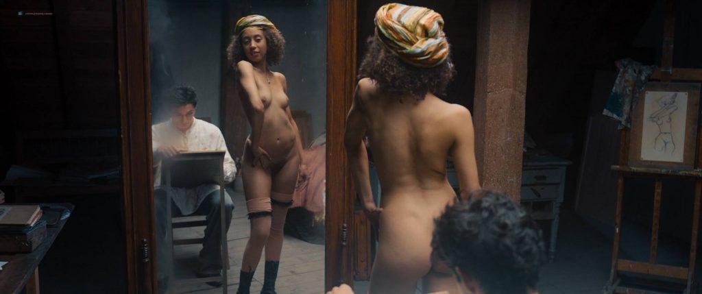 Maresi Riegner nude full frontal Larissa Breidbach nude bush Valerie Pachner nude - Egon Schiele: Tod und Mädchen (AT-2016) HD 1080p BluRay (9)
