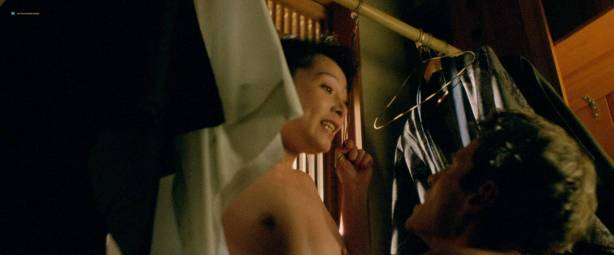 Yoko Shimada nude and sex Julie Condra hot - Crying Freeman (1995) HD 1080p BluRay (5)
