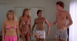 Barbara Crampton nude topless Kathleen Kinmont topless and Sheree J. Wilson - Fraternity Vacation (1985) (17)