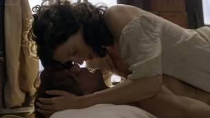 Caitriona Balfe nude brief topless in sex scene - Outlander (2017) s3e13 HD 1080p Web (7)
