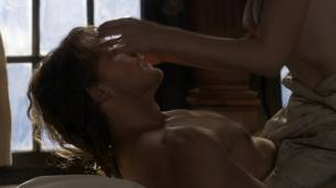 Caitriona Balfe nude brief topless in sex scene - Outlander (2017) s3e13 HD 1080p Web (5)