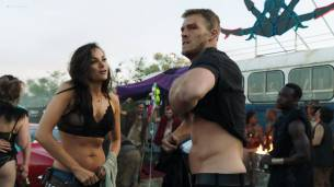 Christina Ochoa hot sexy and sex in the car - Blood Drive (2017) s1e1-2 HD 1080p (8)