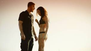 Christina Ochoa hot sexy and sex in the car - Blood Drive (2017) s1e1-2 HD 1080p (2)