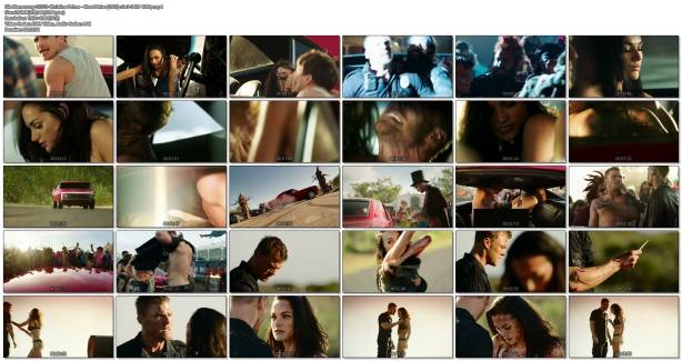 Christina Ochoa hot sexy and sex in the car - Blood Drive (2017) s1e1-2 HD 1080p (1)