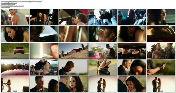 Christina Ochoa hot sexy and sex in the car - Blood Drive (2017) s1e1-2 HD 1080p (1)