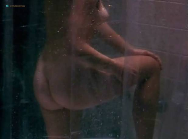 Kathleen Kinmont nude in the bath and T.C. Warner nude - The Art of Dying (1991) (6)