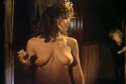 Kathleen Kinmont nude topless Toni Lee busty nude Laura Burkett nude in shower - Rush Week (1989) (6)