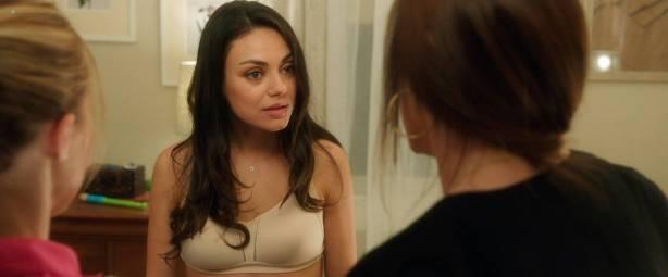 Leah McKendrick nude bush (merkin) and boobs Mila Kunis hot - Bad Moms (2016) 1080p BluRay (5)