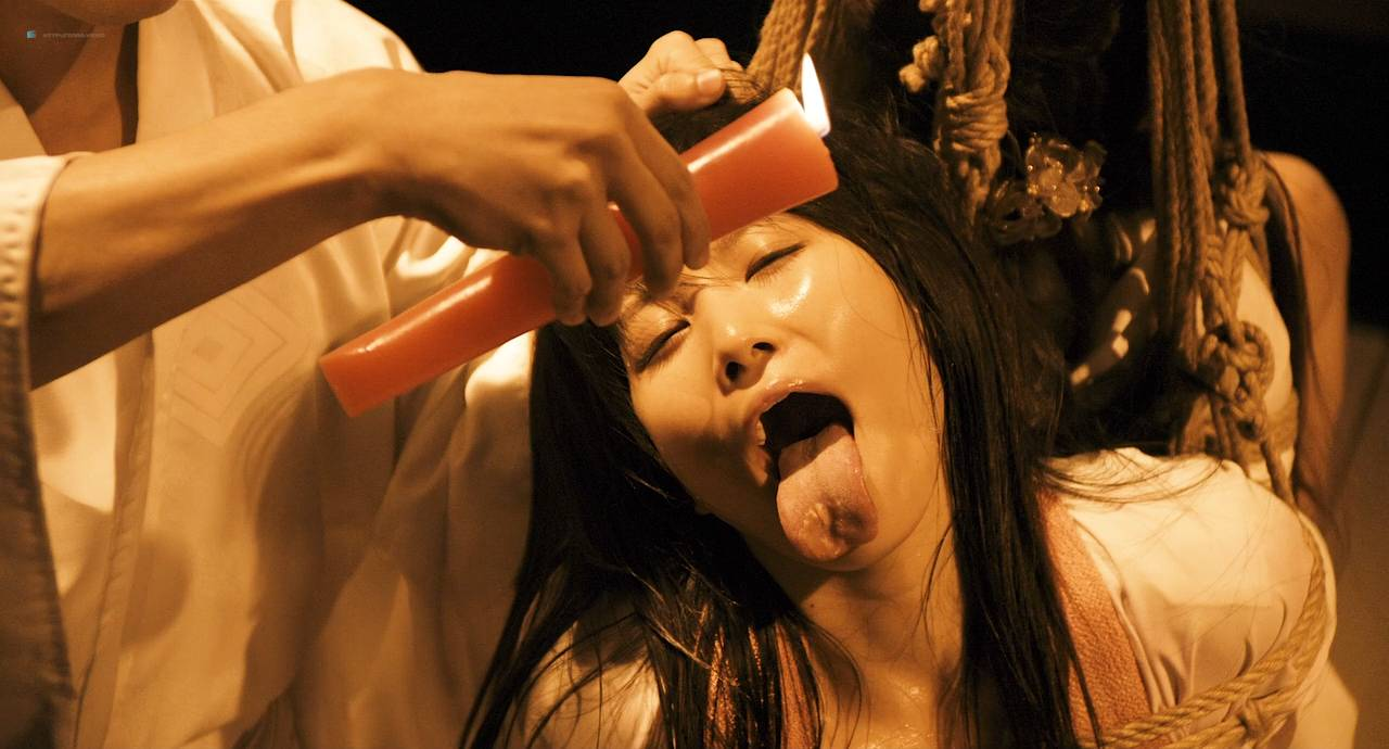 Maiko Amano nude bush Noriko Hamada and Rina Sakuragi nude full frontal - Hana to hebi Zero (JP-2014) HD 720p (5)
