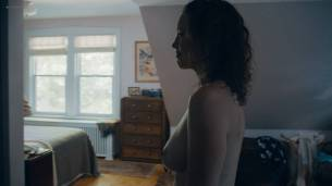 Rebecca Spence nude butt and boobs Malic White brief topless and Jessie Pinnick hot - Princess Cyd (2017) HD 1080p (7)