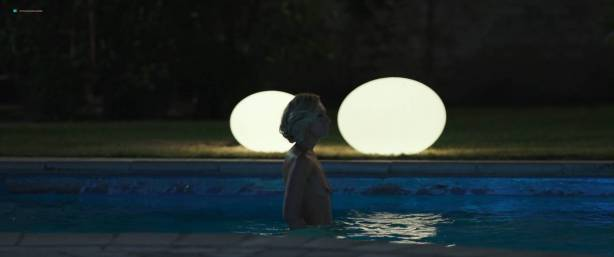 Toni Collette nude bush and boobs while skinny dipping - Madame (2017) HD 1080p WEB (8)