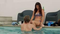 Charlotte Best nude side boob and Stephanie King nude topless - Teenage Kicks (AU-2016) HD 1080p (14)