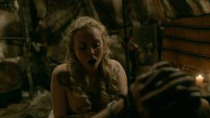 Dagny Backer Johnsen nude topless and sex - Vikings s05e07 (2018) HD 1080p Web (2)