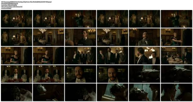 Dakota Fanning hot cleavage and Daisy Bevan sex - The Alienist (2018) s1e2 HD 1080p (1)