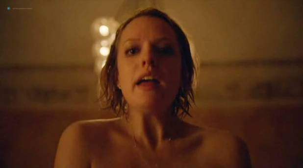 Elisabeth Moss hot sex topless - Square (2017) (10)