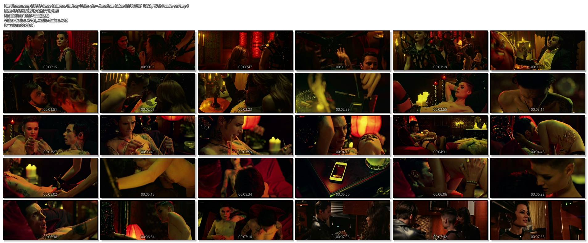 Jesse Sullivan nude topless Cortney Palm and others nude topless too - American Satan (2017) HD 1080p Web (1)