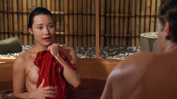Joan Chen nude brief topless Sumi Mutoh nude bush, butt and boobs - The Hunted (1995) HD 1080p Web (13)
