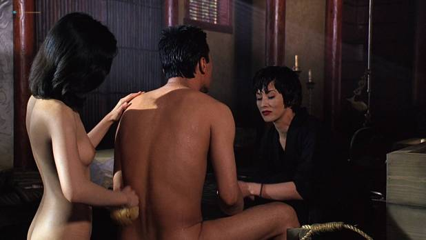 Joan Chen nude brief topless Sumi Mutoh nude bush, butt and boobs - The Hunted (1995) HD 1080p Web (3)