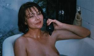 Macha Méril nude topless Laurence Cortadellas nude in shower - Vagabond (FR-1985) HD 1080p (6)