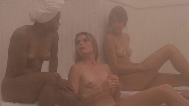 Mariel Hemingway nude bush and lesbian sex Patrice Donnelly nude topless bush others nude - Personal Best (1982) HD 1080p Web (9)