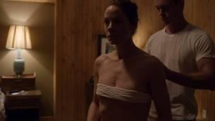 Michelle Monaghan hot bondage Emma Greenwell sexy and Freida Pinto oral - The Path (2018) s3e1 HD 1080p (9)