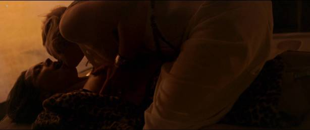 Rebecca Hall nude topless Bella Heathcote hot sex threesome - Professor Marston And The Wonder Women (2017) HD 1080p (11)