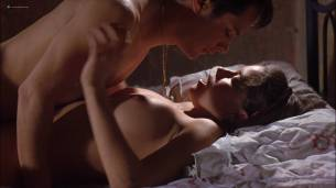 Ana Claudia Talancón nude topless in sex scene - The Crime of Padre Amaro (MX-2002) HD 1080p Web (5)