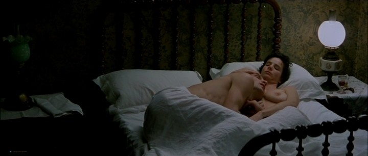 Kate Winslet nude bush and topless and Rachel Griffiths nude topless - Jude (1996) (10)