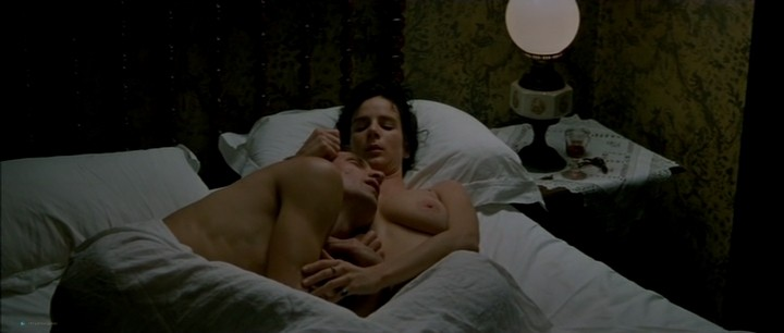 Kate Winslet nude bush and topless and Rachel Griffiths nude topless - Jude (1996) (9)