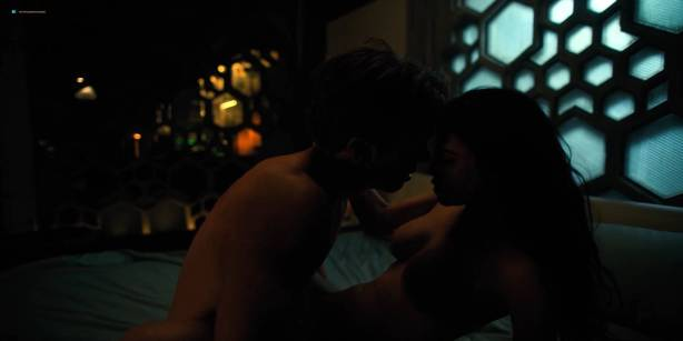 Kristin Lehman nude bush Dichen Lachman and Martha Higareda nude full frontal - Altered Carbon (2018) S1 HD 1080p (8)