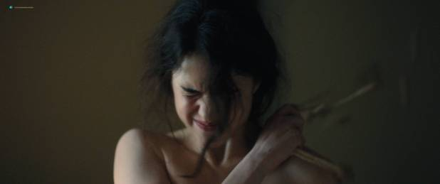 Margaret Qualley nude topless if her in brief scene - Novitiate (2017) HD 1080p BluRay (8)
