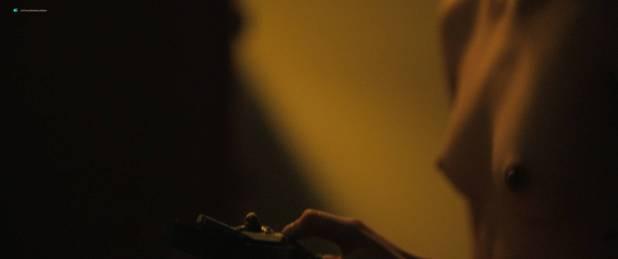 Margaret Qualley nude topless if her in brief scene - Novitiate (2017) HD 1080p BluRay (4)