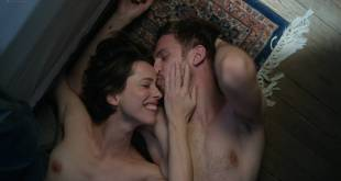 Rebecca Hall nude brief topless some sex and very hot - Permission (2017) HD 1080p Web (9)