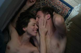 Rebecca Hall nude brief topless some sex and very hot – Permission (2017) HD 1080p Web