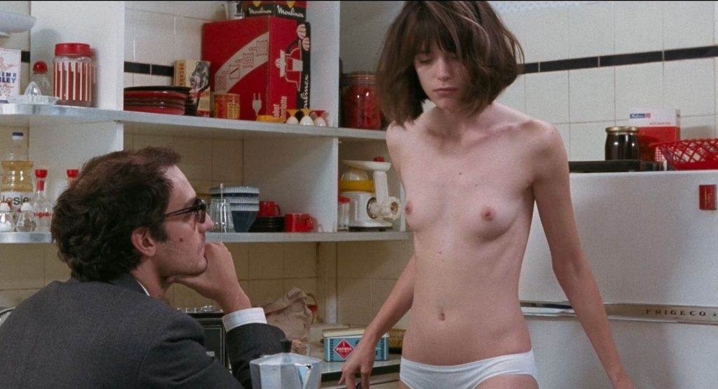 Stacy Martin nude full frontal and some sex - Le Redoutable (FR-2017) HD 1080p BluRay (14)
